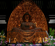 Yakushi Nyorai Golden Buddha