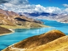 Yamdrok Lake In Tibet Autonomous Region - China