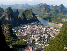 Yangshuo From TV Tower