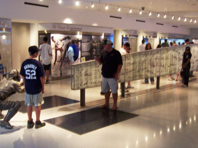 The Centerpiece Of The New York Yankees Museum