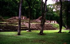 Yaxchilan Main Plaza - Chiapas -Mexico