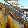 Yellow Foldable Seats