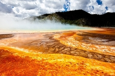 Yellowstone NP Grand Prismatic Spring WY