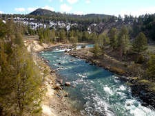 Yellowstone River Near The Tower Ranger Station - Yellowstone -