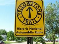 Yellowstone trail cerca de Gardiner