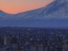 Yerevan  Armenia With The Backdrop Of  Mount  Ararat