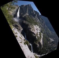 Yosemite Falls Panorama - United States