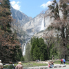 Yosemite Falls View From Bottom