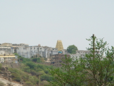 Yadagirigutta Temple View