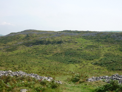 Remains Of The Larger Iron Age Fort On Hills
