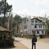 The Main Street In Yuksom