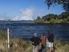 Zambezi River Approaching Victoria Falls - Zambia-Zimbabwe