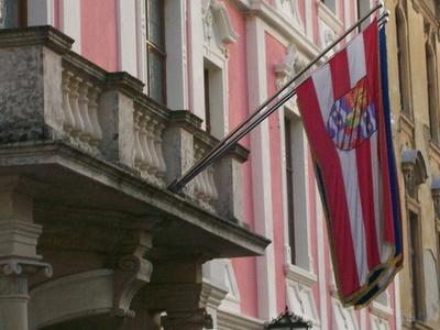 County Palace In Varazdin