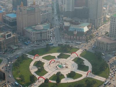 Zhongshan Square, Dalian