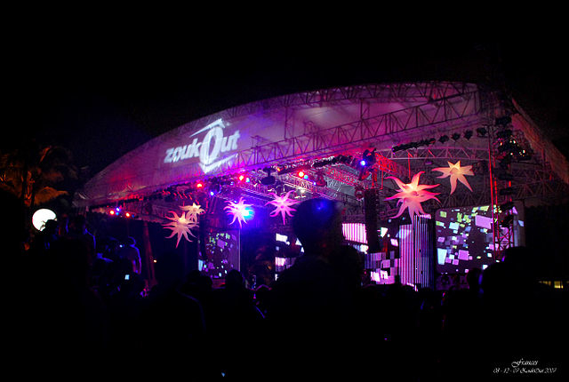 Zouk Out Singapore, Outdoor Beach Parties Photos