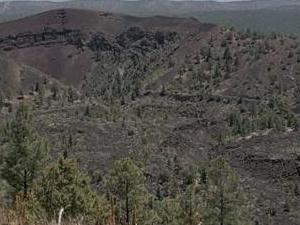Zuni-Bandera volcánica campo