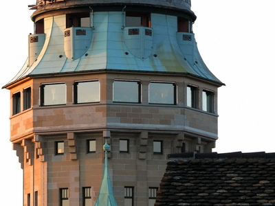 Telescope Dome Seen From Lindenhof Hill