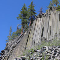 Devils Postpile National Monument Campground