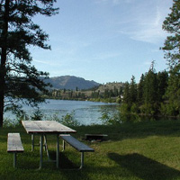 Curlew Lake State Park Campground
