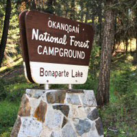 Bonaparte Lake Campground