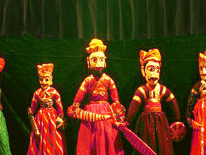 An Evening with Rajasthani Puppet Show, Folks dance followed by dinner with Private Transfer Photos