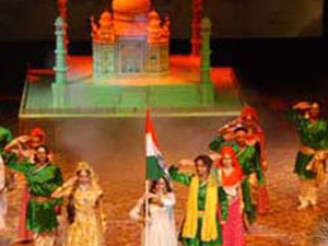 "An Evening with Saga of Love ""Mohabbat the Taj"" Followed by Light and Sound Show with Dinner Photos"