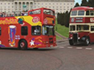 Belfast tourist bus Photos