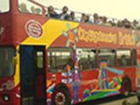 Bristol tourist bus