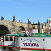 Cruise on the Vlatava River with lunch (with pick up in Down Town)