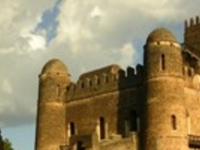 GONDAR THE CAMELOT OF ETHIOPIA WITH THE DRAMATIC LANDSCAPE OF THE SIMIEN MOUNTAINS