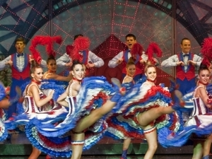 Illuminations & Show at the Moulin Rouge - by minibus - ISM Photos