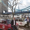 Italian Job Tour of London in a classic Mini Cooper