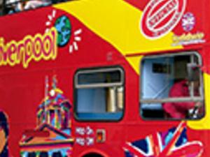 Liverpool tourist bus Photos