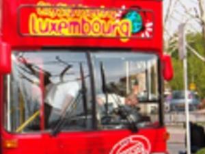 Luxembourg tourist bus Photos