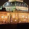Prague Castle after dark (in English)