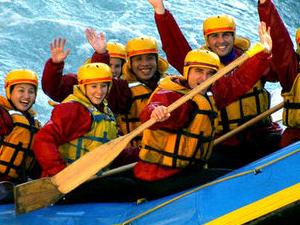 Queenstown Kawarau River White Water Rafting Photos