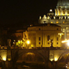 Rome by night with dinner in Trastevere