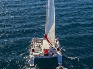 Sailing to Brac and Solta islands  on a mega catamaran Photos