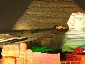 Sound And Light show at the Pyramids of Giza Photos
