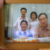 Chinese family in downtown Dalian