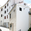 Duplex house in the center