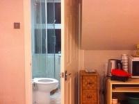 En suite double room for girls