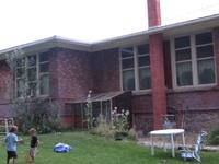 Former college building...