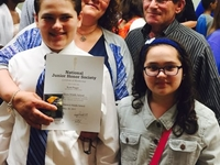 Friendly family close to city