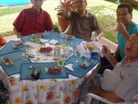 Host family in Lima