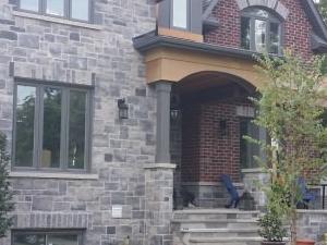 Mansion on a lake near Toronto