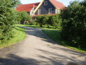 Rural farmhouse in Cape Breton