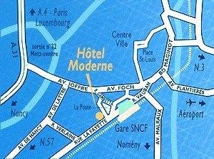 Hotel Moderne Metz