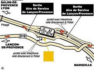 Hotel Lancon de Provence