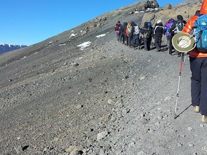 Climbing Mount Kilimanjaro on Marangu Route Photos